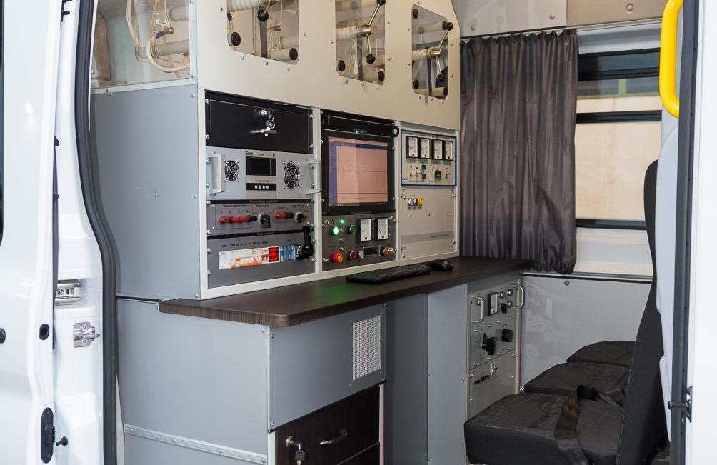 Электролаборатория - салон